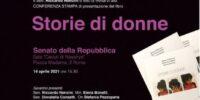 """""""STORIE DI DONNE"""", PELLICCIONE: DOMANI LA PRESENTAZIONE IN SENATO CON IL MINISTRO BONETTI"""