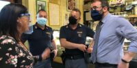 L'AQUILA: FURTO CON SCASSO ALLA ROSTICCERIA DA STEFANIA, LA SOLIDARIETA' DEL SINDACO BIONDI