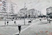 ARTE: 50 VOLTE PESCARA, LE TELE DI VEGGETTI KANKU RACCONTANO LA CITTA'
