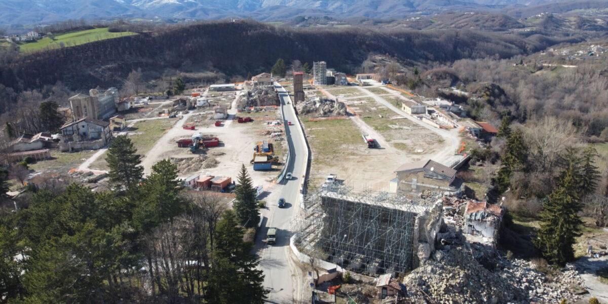 SISMA CENTRO ITALIA: RICOSTRUZIONE DECOLLA, <BR>DOMANDE PRIMI MESI 2021 PARI A INTERO 2020